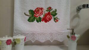 как вышивать на полотенцах